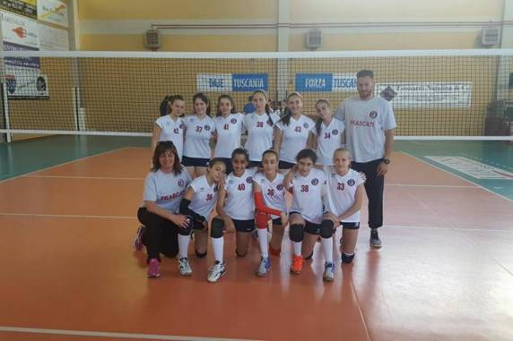 "Pallavolo, Volley Club Frascati, l'Under 13 a un passo dalla ""final four"" regionale. Musetti: ""Peccato"""