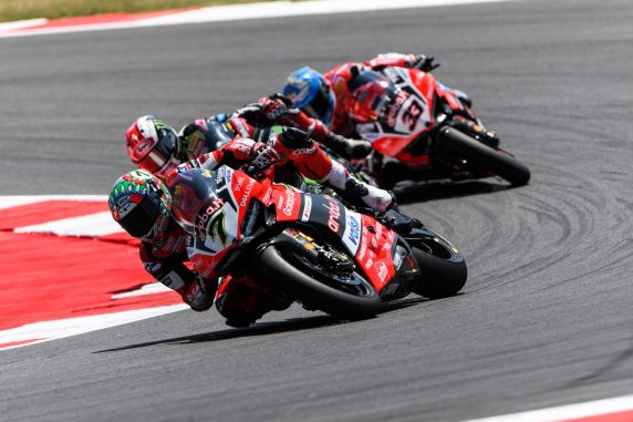 Sbk: test conclusi a Jerez per il team Aruba.it Racing - Ducati