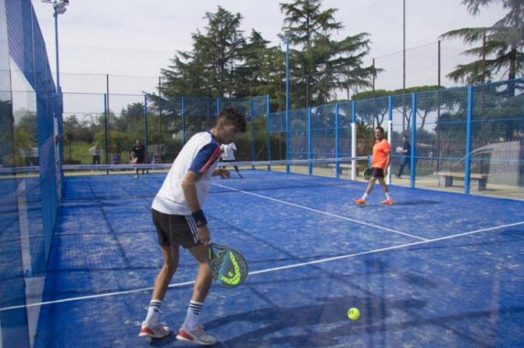 Campionato invernale di padel al Tc New Country Club Frascati 22 coppie al via