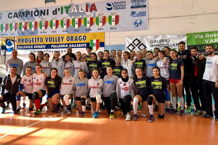 "Volley Club Frascati, Under 14 e 16 in visita al ""prof"" Bosetti. Musetti: ""Una grande opportunità"""