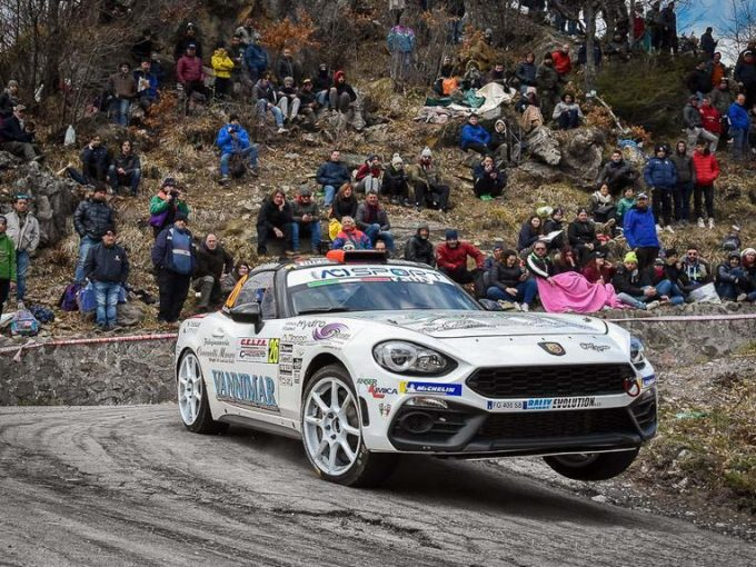 Christopher Lucchesi pronto per il secondo round dell'Abarth 124 rally Selenia International Challenge