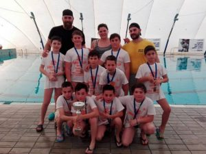 Pallanuoto, 3T Frascati Sporting Village, ottimo terzo posto finale all'Under 11 Cup