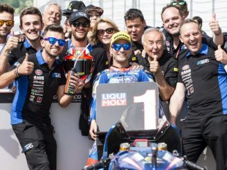 GP d'Italia, straordinaria pole di Pasini in moto2. Locatelli in sesta fila