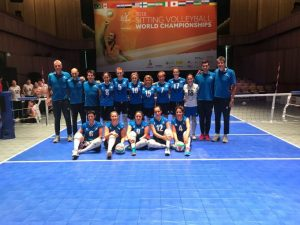 Campionato Mondiale di sitting volley:  le azzurre superate 3-0