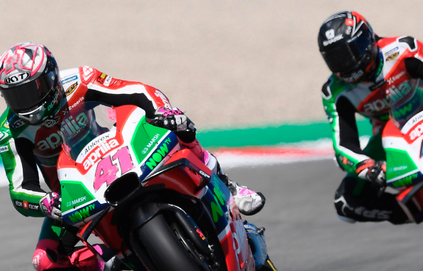 Sachsenring: preview Aprilia