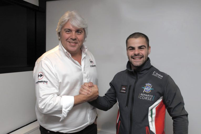 Fenati sarà nel 2019 un pilota del Mv Agusta Forward Racing Team