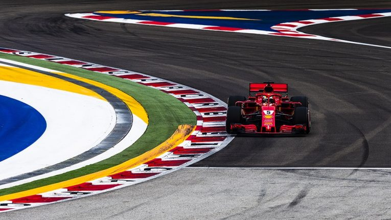 Gp Singapore, qualifiche: le Ferrari 3° e 5°