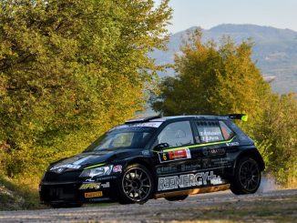 Foto Rudy Michelini in azione al Rally Due Valli (Bettiol)
