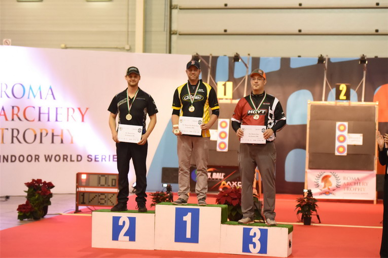 Tiro con l'arco, Roma Archery Trophy - Indoor World Series: tredici italiani sul podio