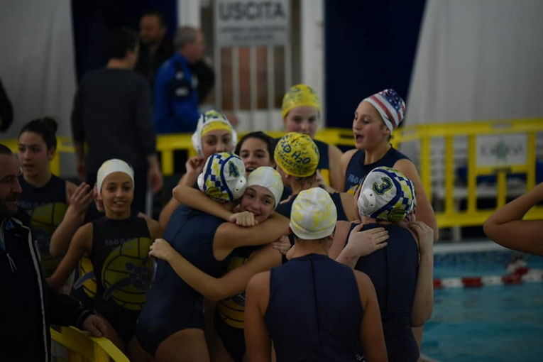 Pallanuoto, F&D H2O, vince l'Under 15 contro lo Splash Latina
