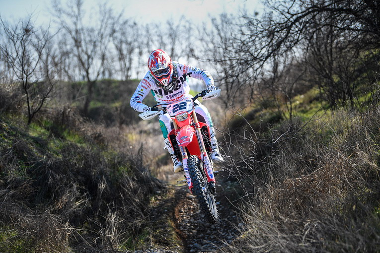 Honda Racing RedMoto World Enduro Team pronto alla sfida dei Campionati Assoluti d'Italia
