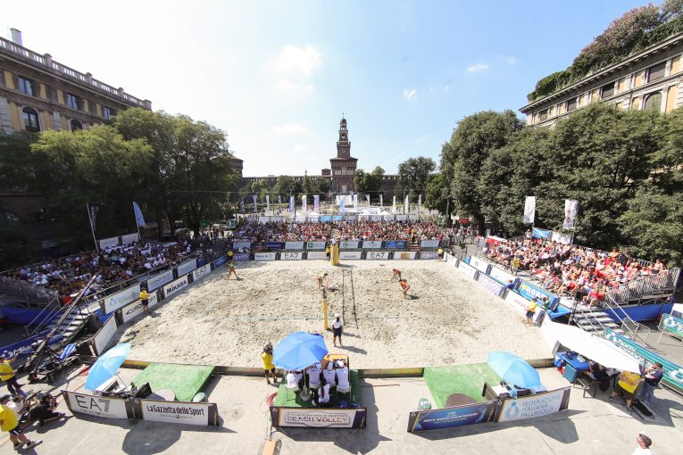 """Milano Volley Week"": dal 14 al 23 giugno appuntamento con gli Assoluti di Beach Volley"