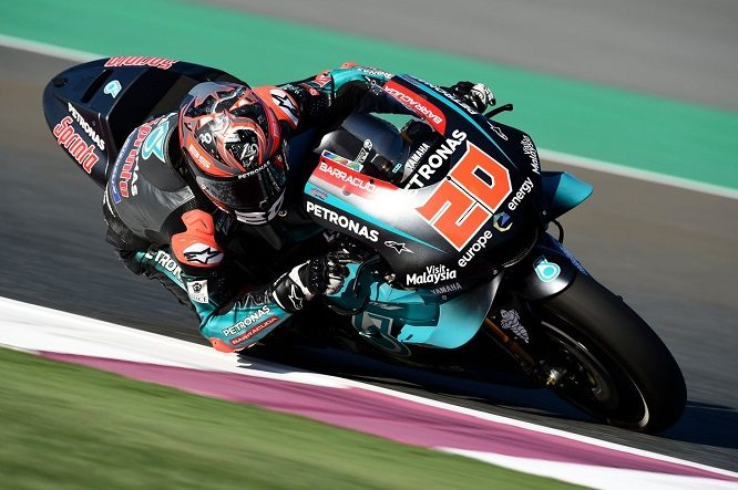 Due super Yamaha nelle qualifiche con Quartararo in pole