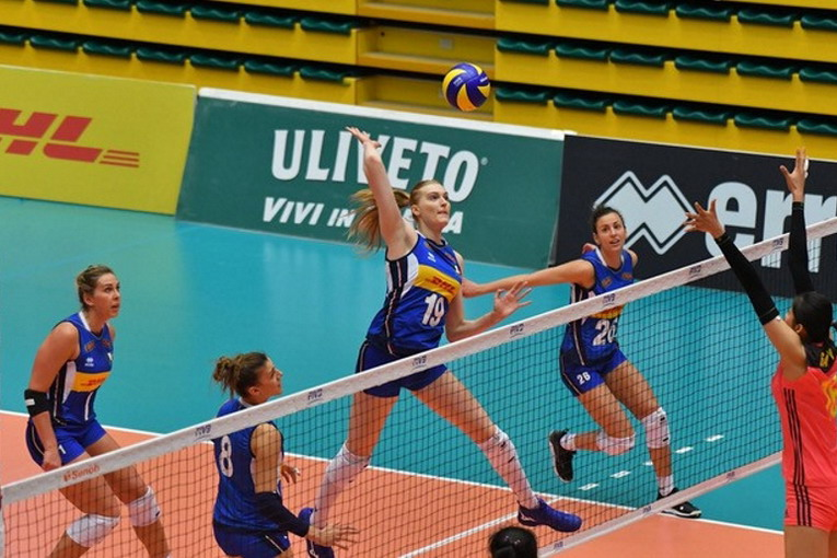 Volley, le 25 azzurre per la Volleyball Nations League