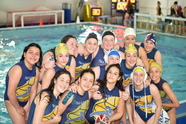 Pallanuoto, Under 15, F&D H2O Velletri batte SIS Roma in una gara avvincente e tirata (7-6)