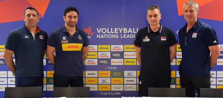 Volleyball Nations League: domani l'Italia in campo contro la Rep. Dominicana