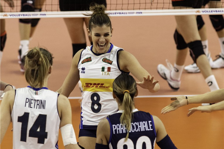 Volley, Volleyball Nations League 2019, Femminile: tris delle azzurre, battuta la Germania 3-0