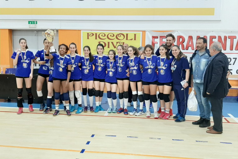 Volley Club Frascati, Under 13 campione regionale. E da domani l'Under 16 alle finali nazionali