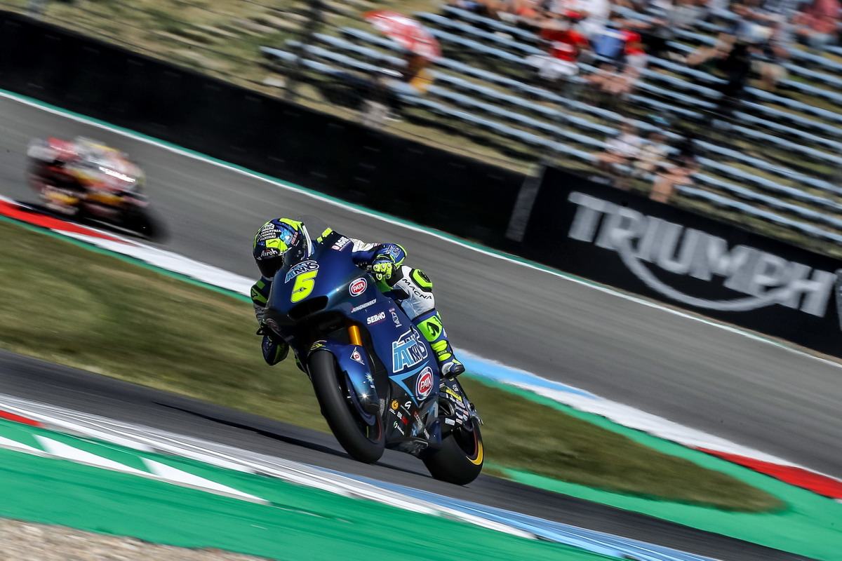 Assen, Moto2, top ten per entrambi i piloti Italtrans Racing Team