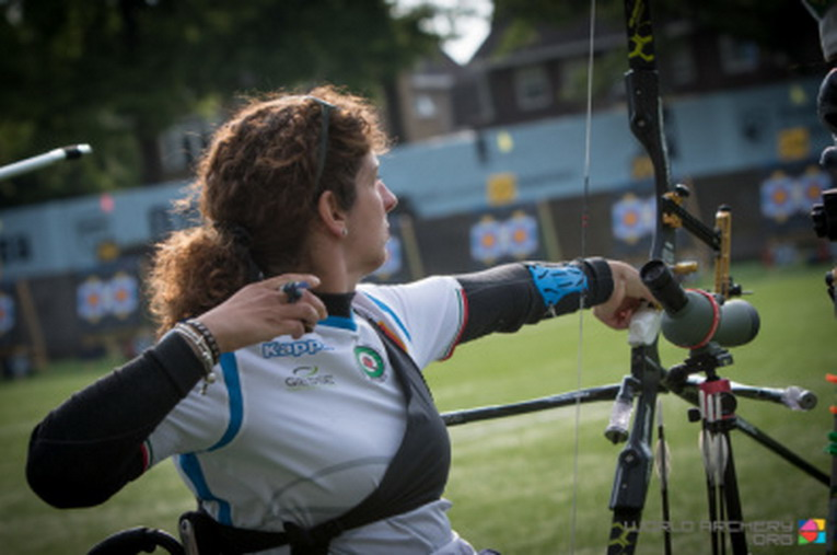 Tiro con l'arco, Campionati Mondiali Para-Archery, Brillano Mijno, Virgilio e i Visually Impaired