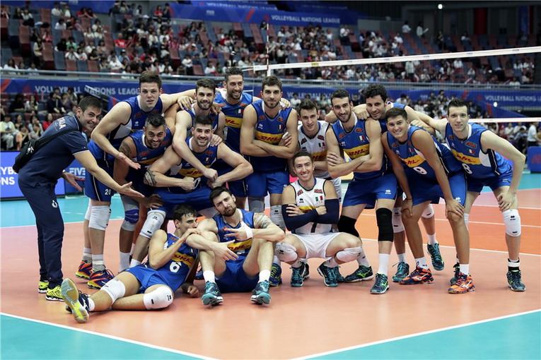Volley, Volleyball Nations League Maschile: seconda vittoria per l'Italia nell'ultimo match della Pool 1