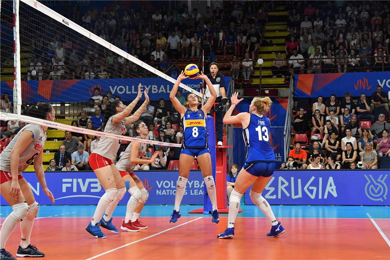 Volleyball Nations League: le azzurre ad Ankara per il quinto round