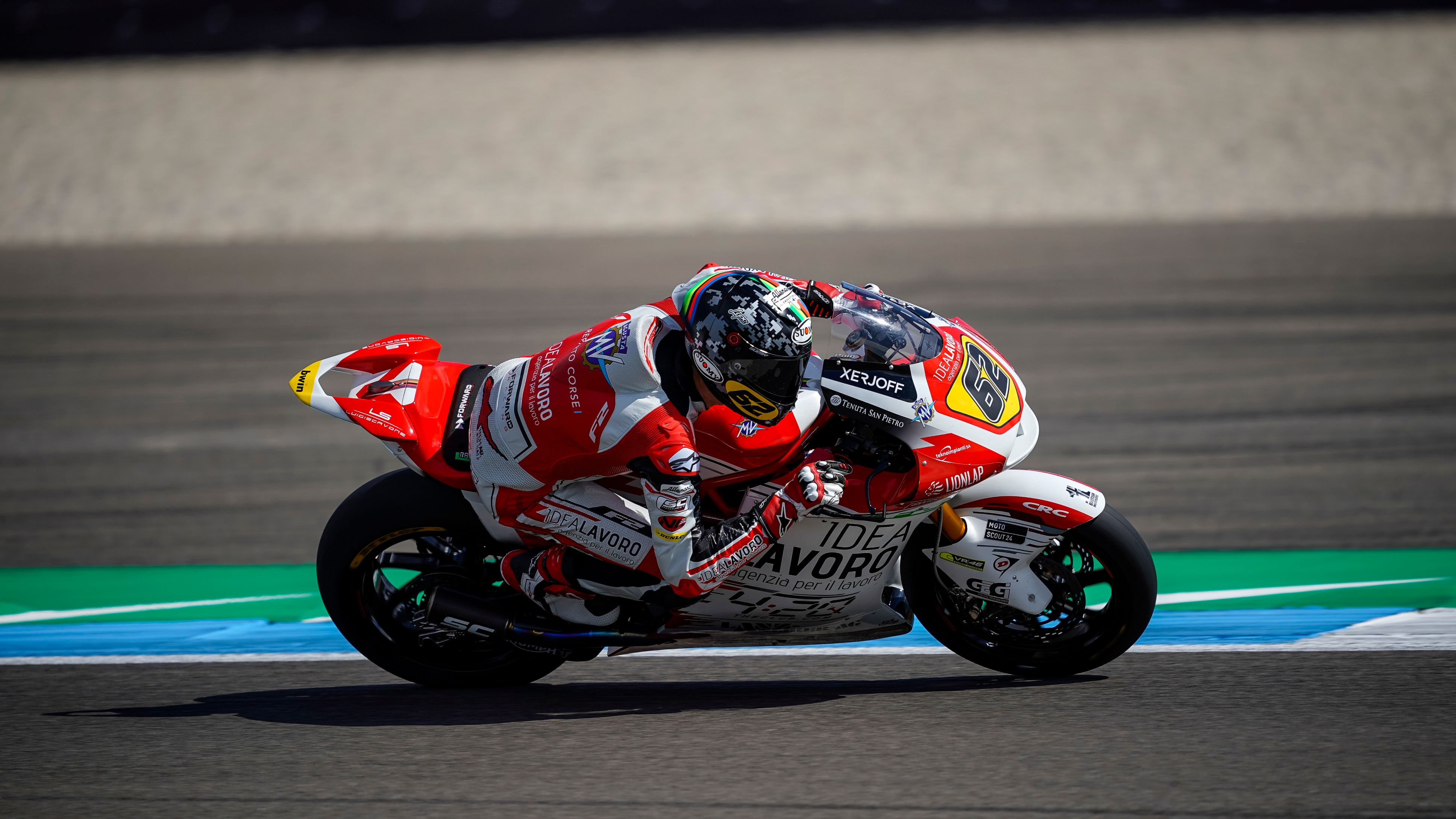 Moto2: la gara del Team MV Agusta Temporary Forward Racing