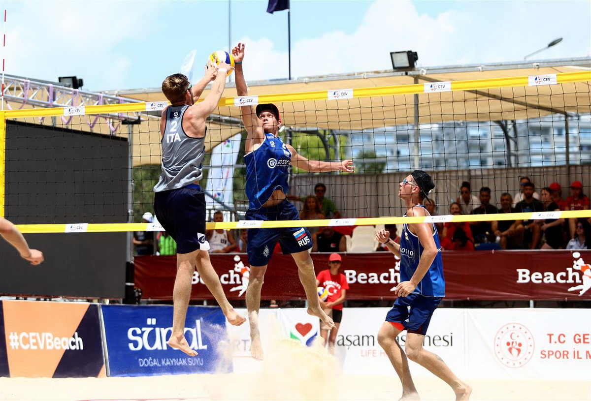 Beach Volley, EuroBeach U22, quarto posto per gli azzurrini Cottafava-Windisch