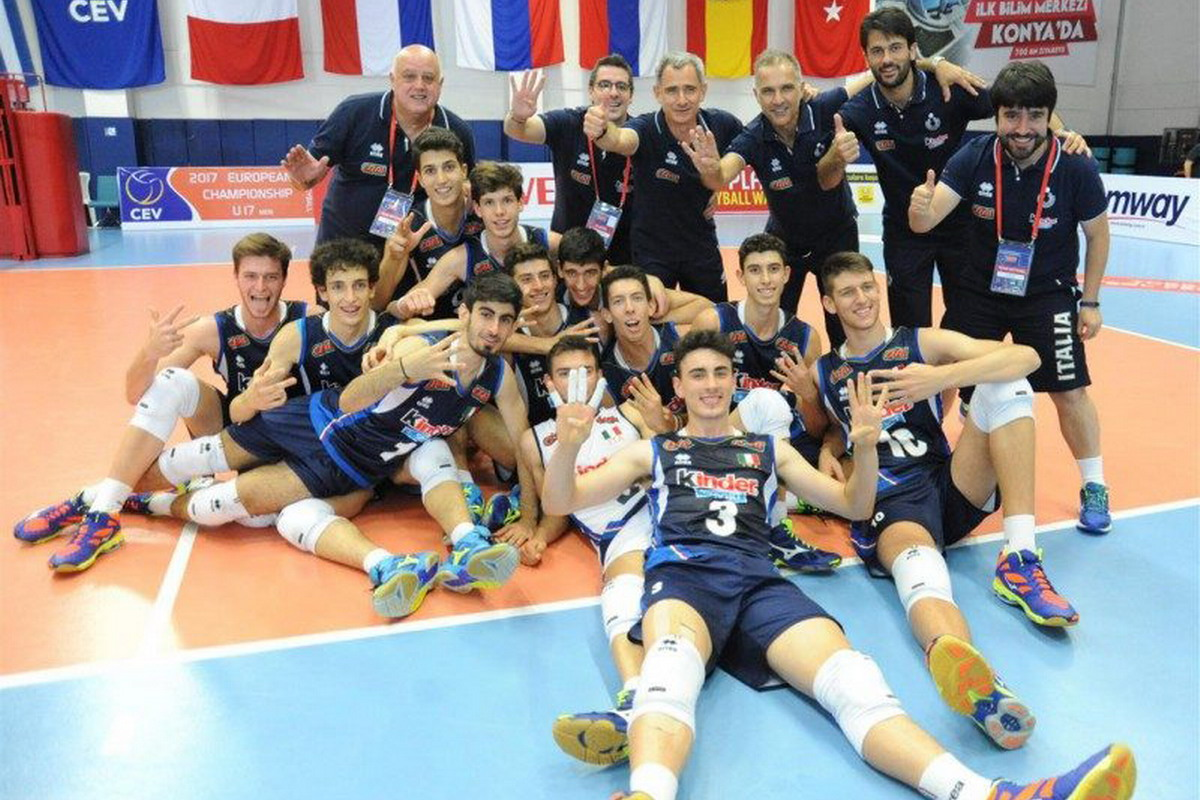 Volley, Europeo Under 17M, gli azzurrini battuti 3-1 dalla Russia
