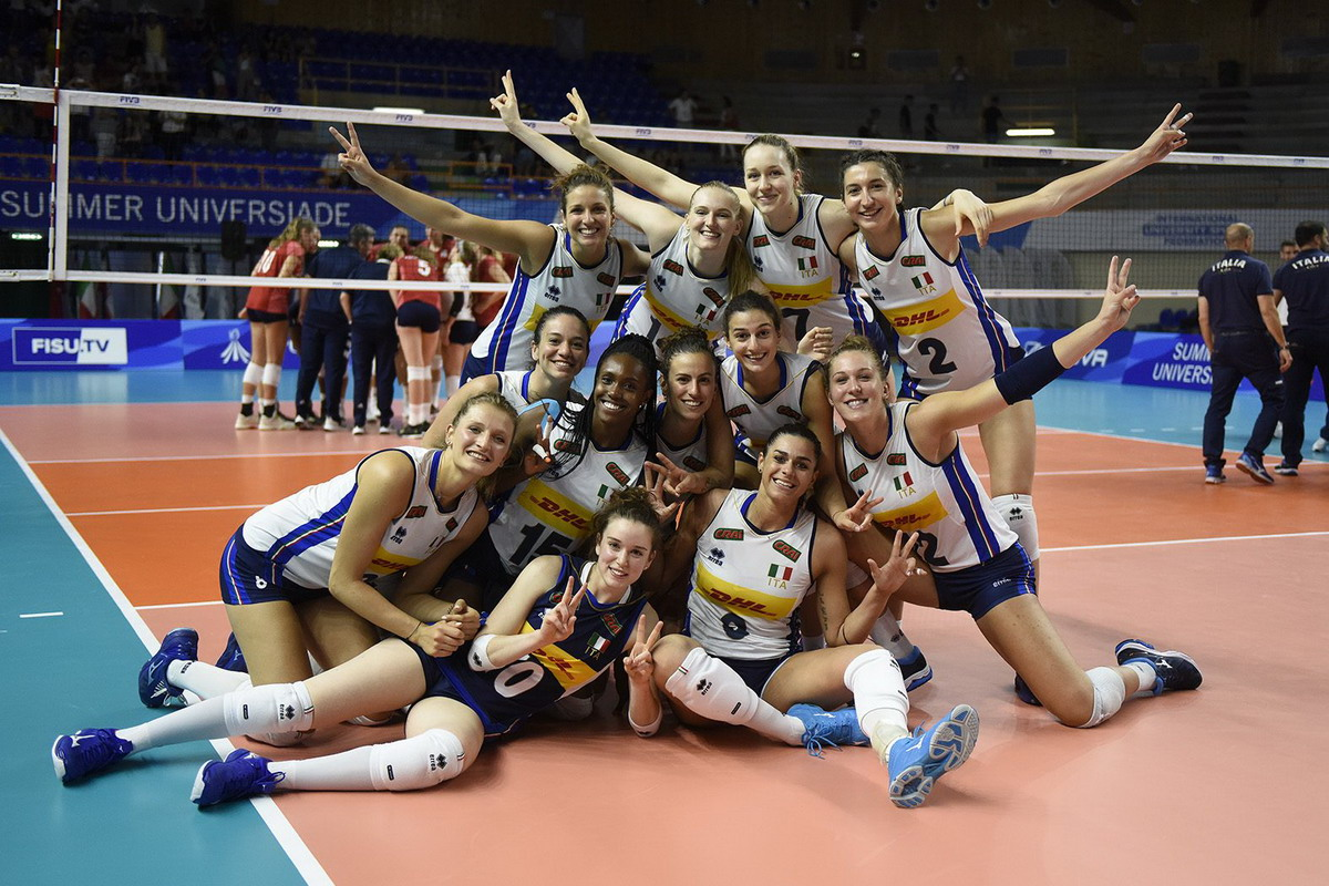 Volley, Universiadi 2019: le azzurre battono la Svizzera e accedono ai quarti