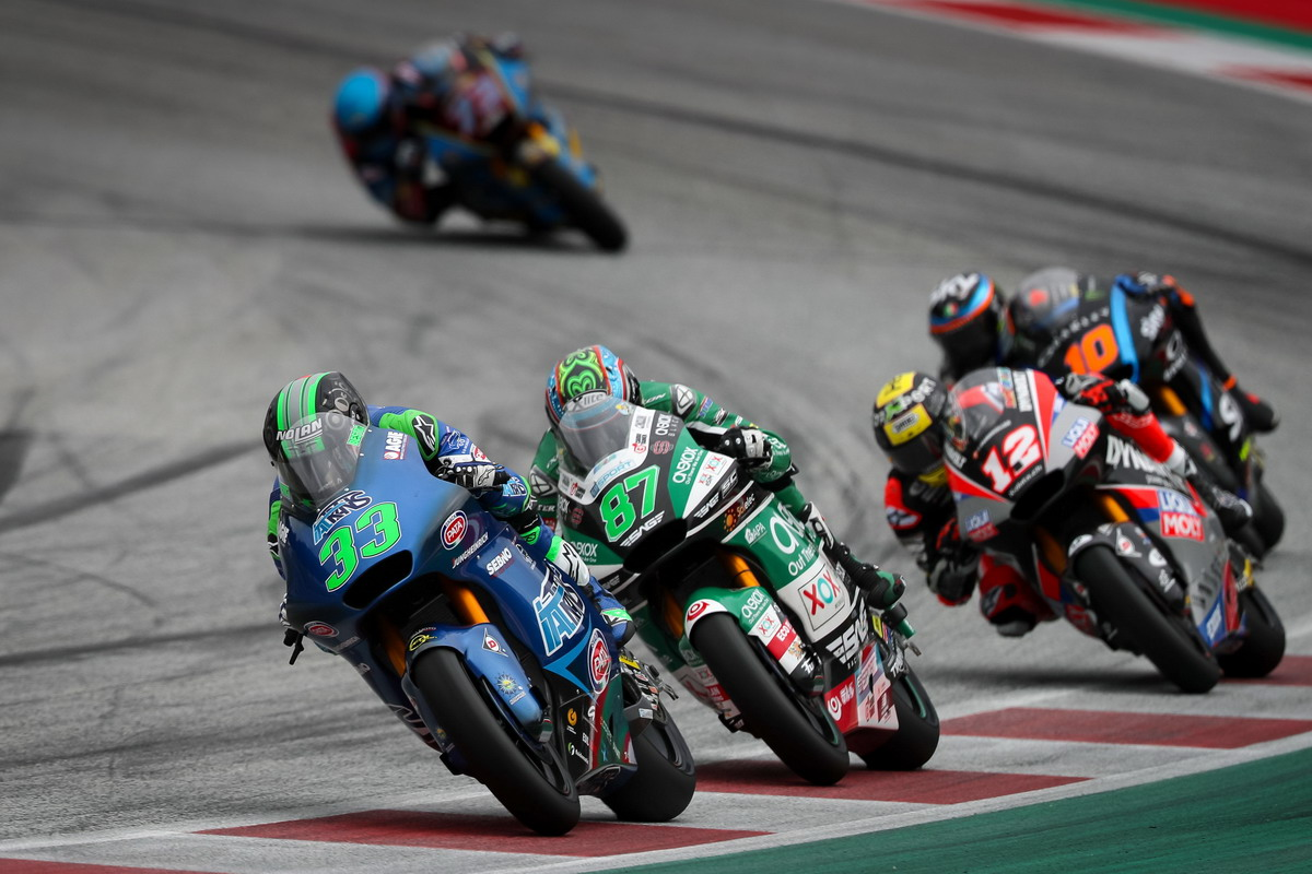 Moto2, Red Bull Ring, incidente per Bastianini. Locatelli ad un passo dalla top ten