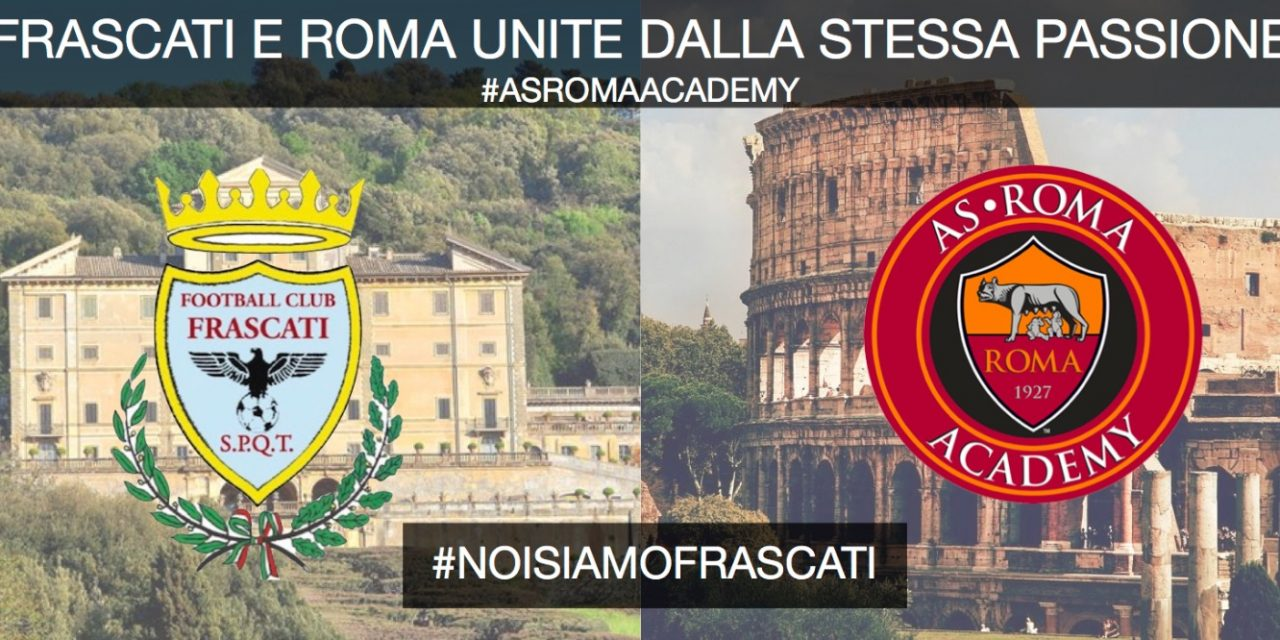 "Football Club Frascati, un'altra ""bomba"": la Scuola calcio sarà affiliata all'As Roma"