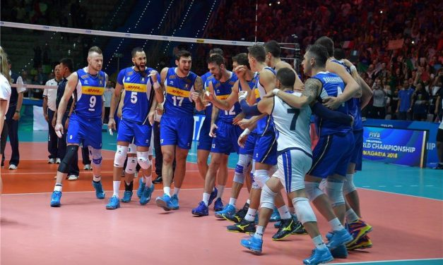 Volley, Europei Maschili, è tris azzurro, battuta la Romania 3-1