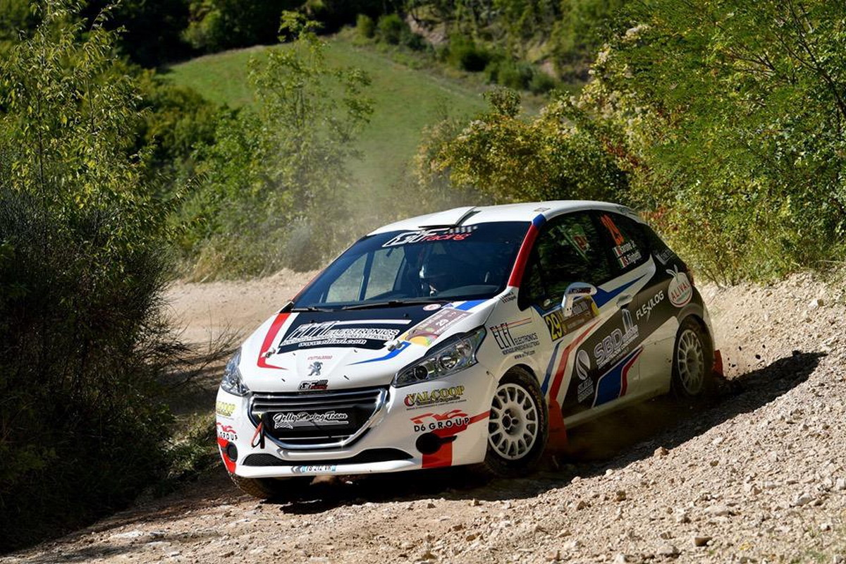 Rally, Simone Baroncelli in evidenza al Rally Nido dell'Aquila