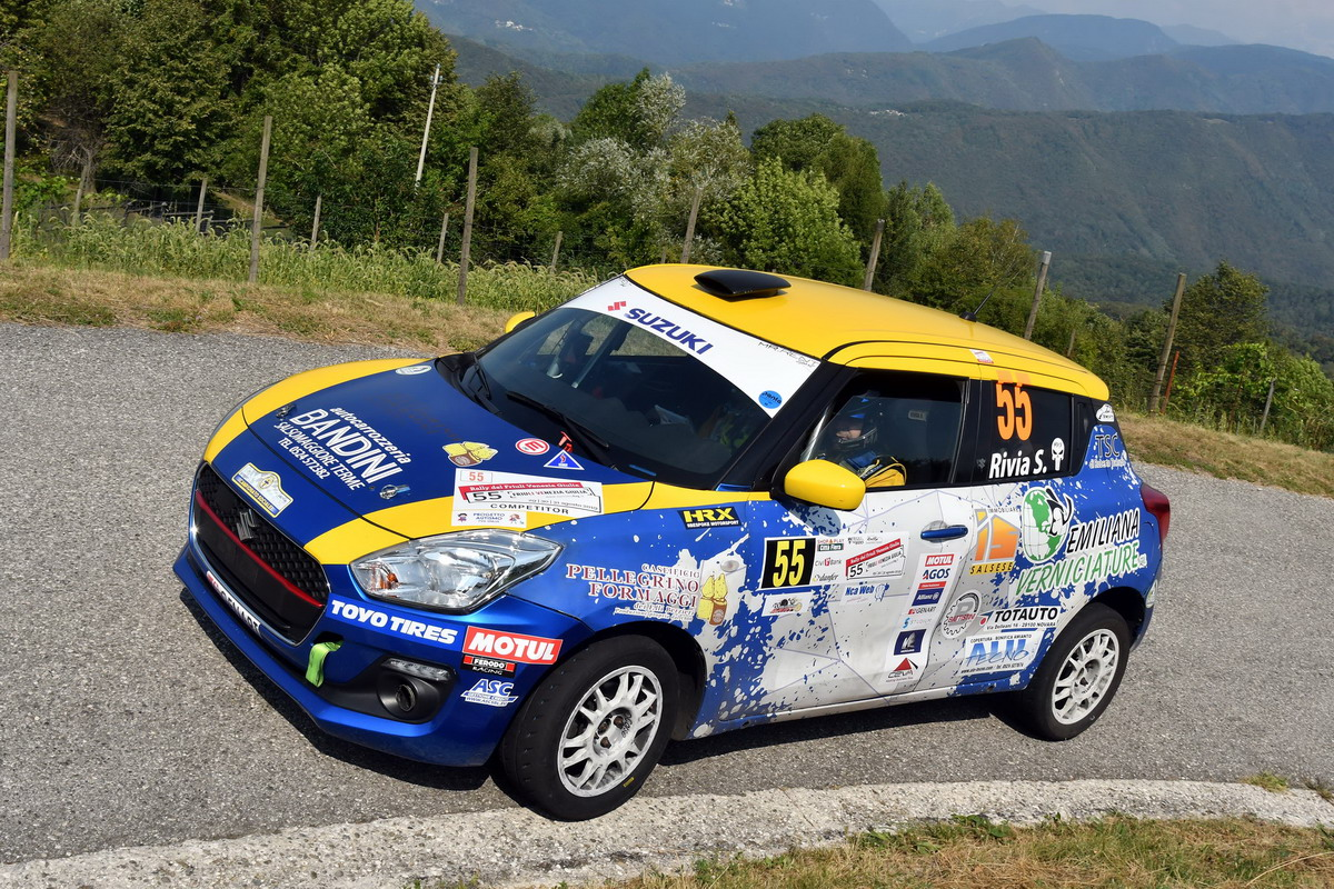 "Suzuki Rally Cup: ultimo round del ""Girone CIR"" al Rally Due Valli"