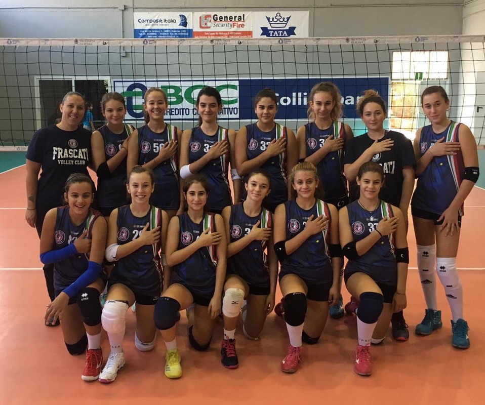 "Volley Club Frascati, Under 14/f, Mola: ""Ragazze concentrate, buona la prima di campionato"""