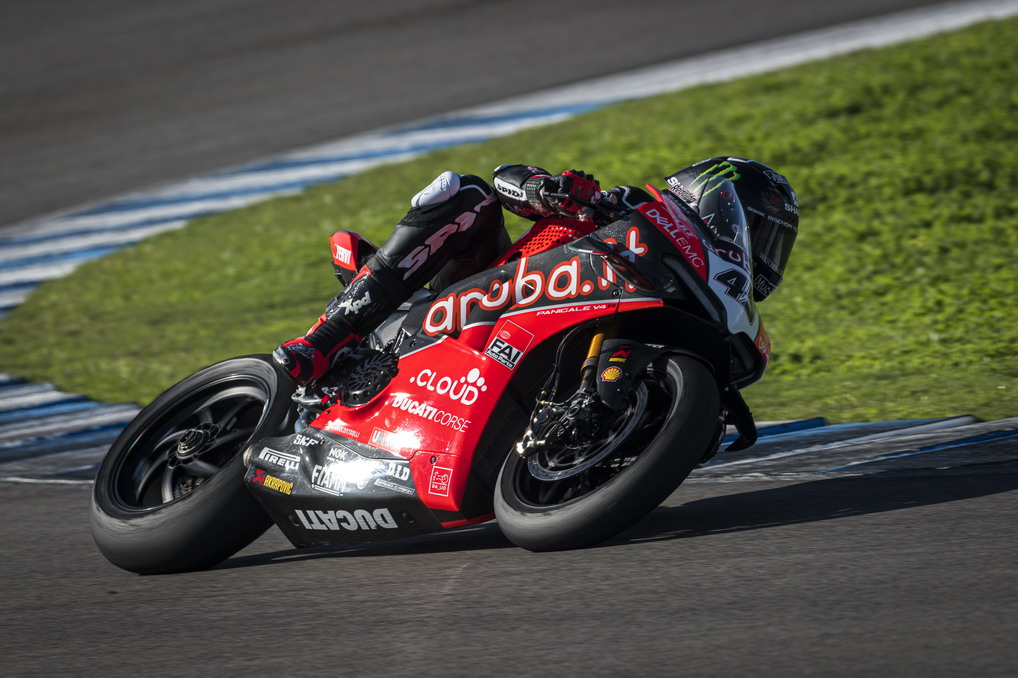 Jerez, SBK: finiti i test del Team Ducati