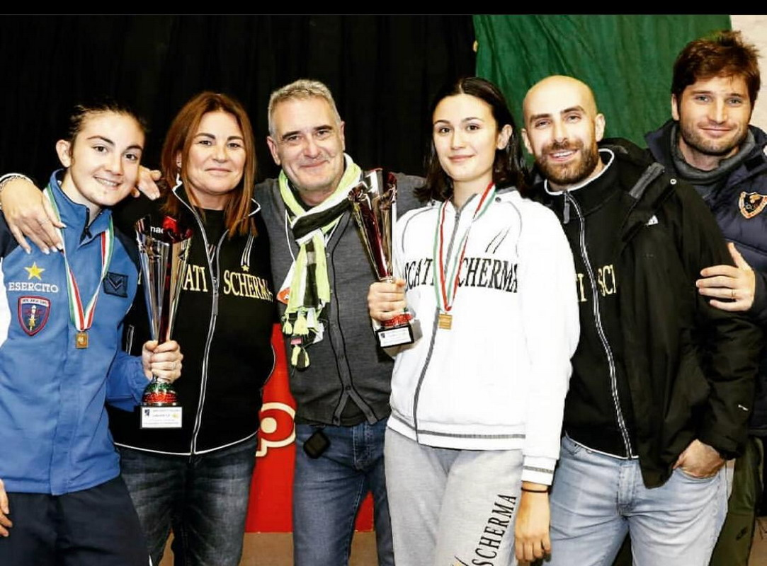 Frascati Scherma, week-end memorabile: due titoli italiani e due bronzi ai campionati Under 23