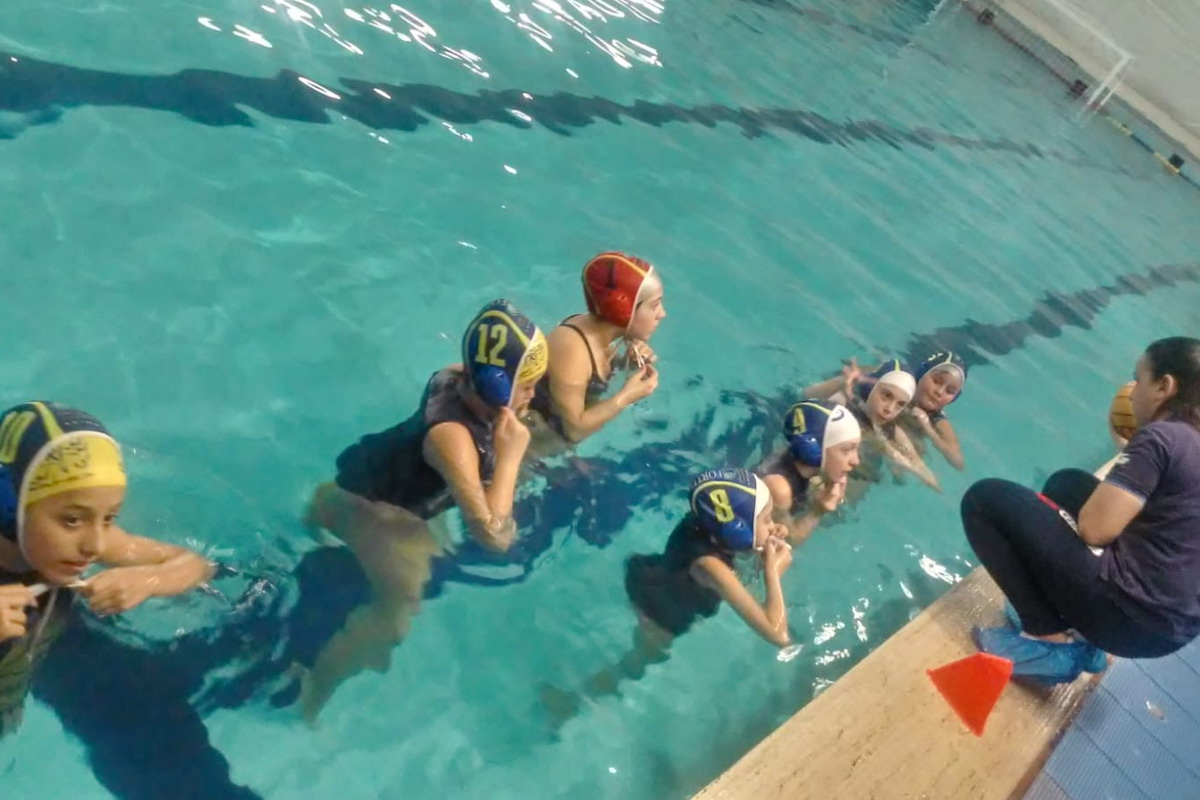 Pallanuoto, Under 13 femminile, una buona prova per l'F&D Waterpolis