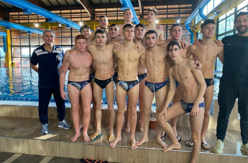 Pallanuoto, Under 20/M F&D Waterpolis, castellani vittoriosi 20-5 sul CSI Flaminio