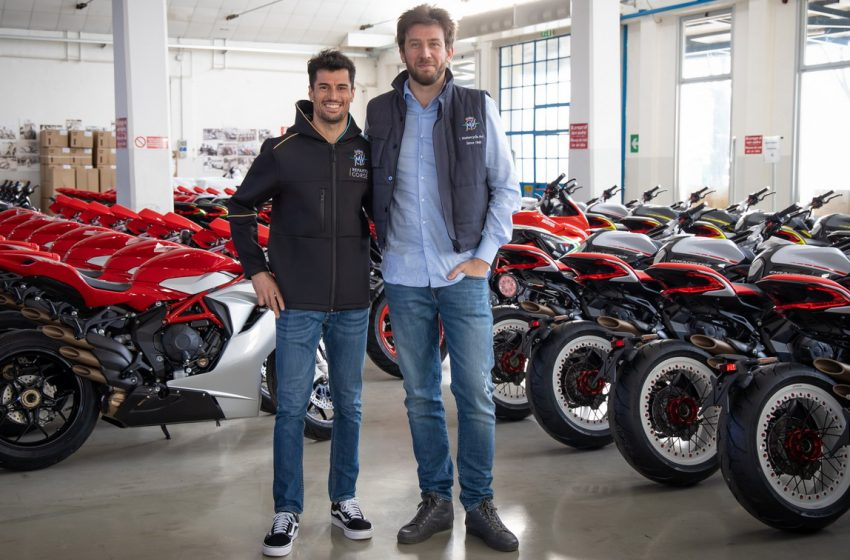 MV Agusta e Forward Team pronti per la sfide della Moto2