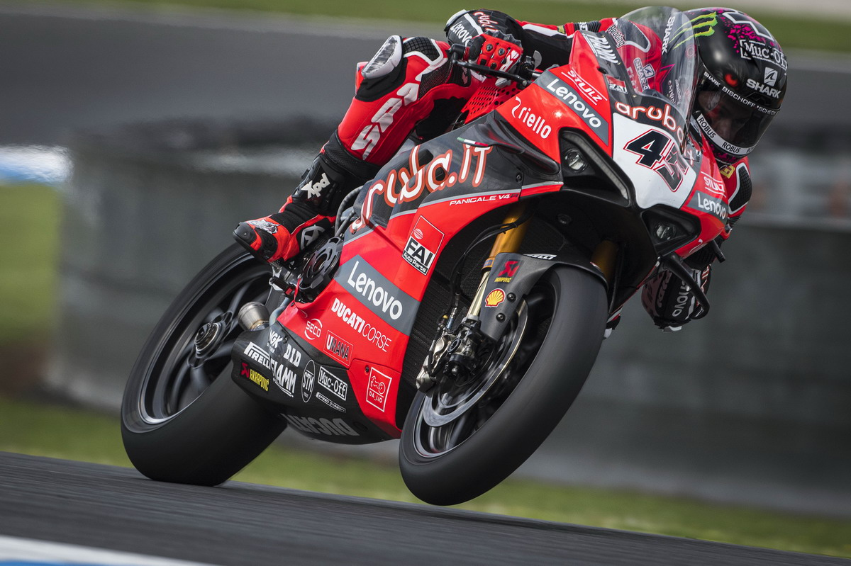 Sbk, Jerez: preview Team Ducati
