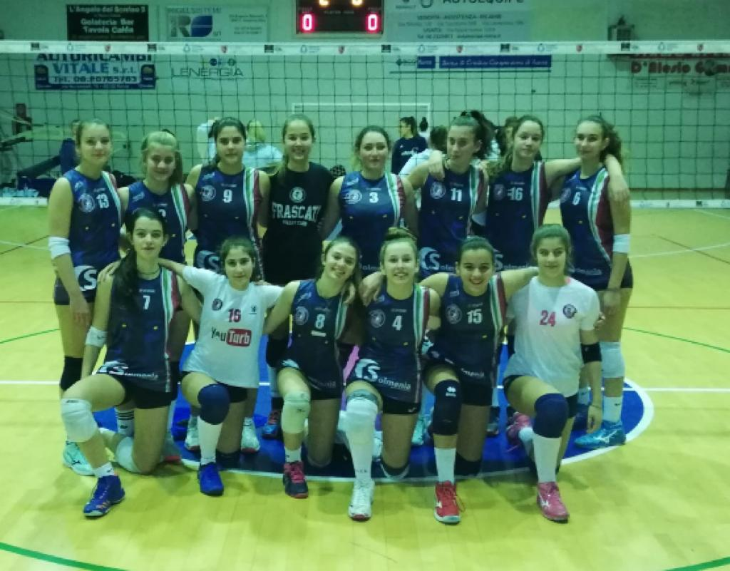 "Volley Club Frascati, l'Under 14 femminile territoriale è in finale. Mola: ""Primo obiettivo centrato"""