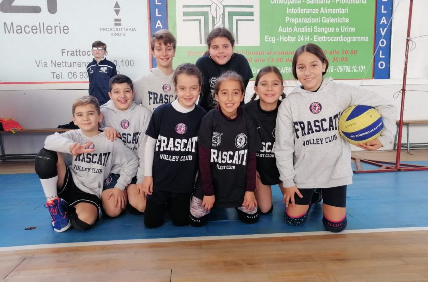 "Volley Club Frascati, De Gregorio: ""Il minivolley e le Under 12 e 13? Sono stra-soddisfatto"""