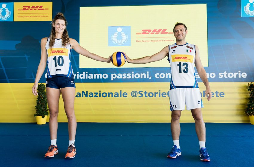 Volley, Fipav e DHL Express Italy insieme anche nel 2021