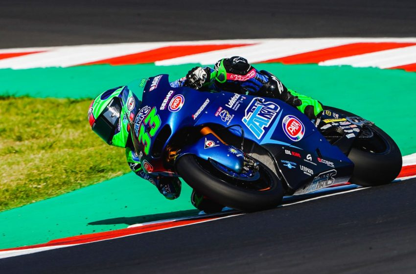 Misano, Moto2: seconda e sesta fila in griglia per Italtrans Racing Team