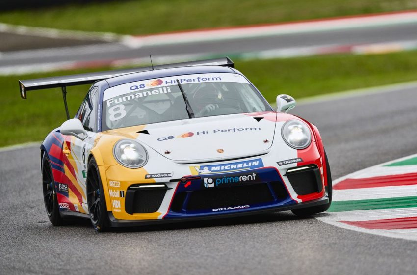 Porsche Carrera Cup Italia 2020, Il Team Q8 Perform sul podio al Mugello