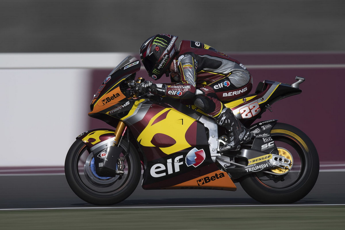 Moto2, Losail: Lowes in pole position